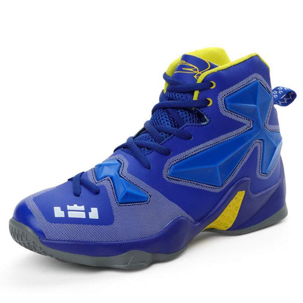 Herren Basketballschuhe Schnüren Turnschuhe Sie Sich Oben Stiefel Leichtgewichtstrainer Athletisch Turnschuhe Schnüren Lässig Atmungsaktiv Laufschuhe 4a432a