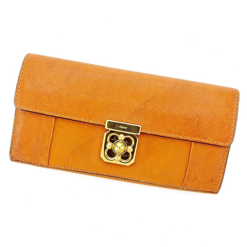 クロエ Chloe 長財布 ファスナー付き 財布 レディース 3P0592 エルシー 中古 B1066   B07Q72R5TK