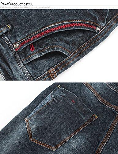 Magro X Uomo Scuro 817 Demon amp;hunter Dh3028 Jeans Serie Blu Elasticoizzato EFpEC8qw