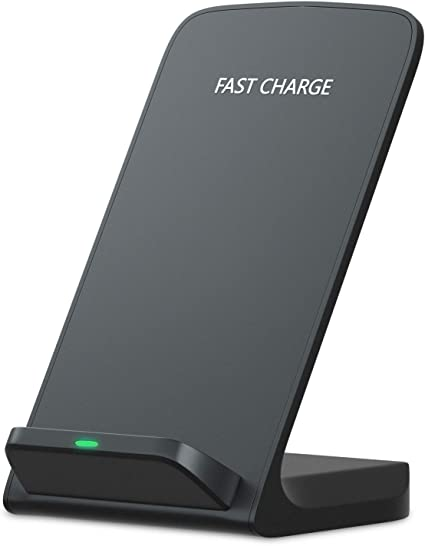 Zenpard iPhone Xs Max Fast Wireless Charger, Charging Stand for Samsung Galaxy Note 9 8 S10 S9 S8 Plus S7 S7 Note 5 S6 Edge Plus, Qi Standard Charge ...