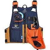 Kylebooker New Outdoor Fly Fishing Vest Kayak Fishing Life Jacket Men Breathable Safety Waistcoat Survival Utility Vest PFD