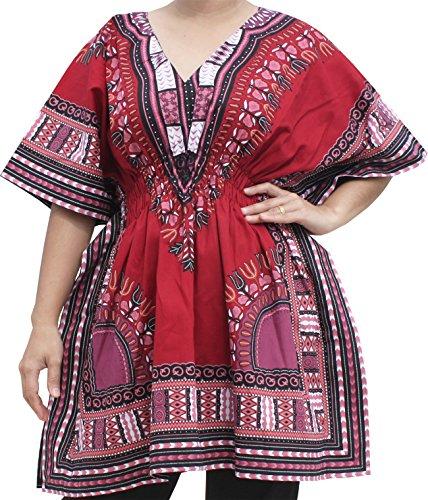 RaanPahMuang Ladies Dashiki Shirt Elasti - V-waist Dance Shopping Results