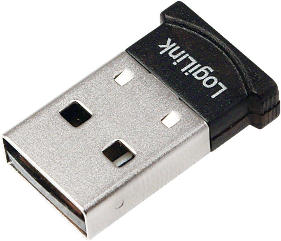 LogiLink BT0037 Bluetooth 4.0 Adaptador, USB 2.0 Micro, Clase 1 reflectores