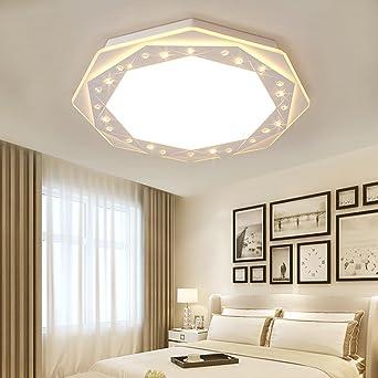 plafonnier led moderne octogonale plafonnier design lampe clairage lampe salon salle manger lampe chambre lampe