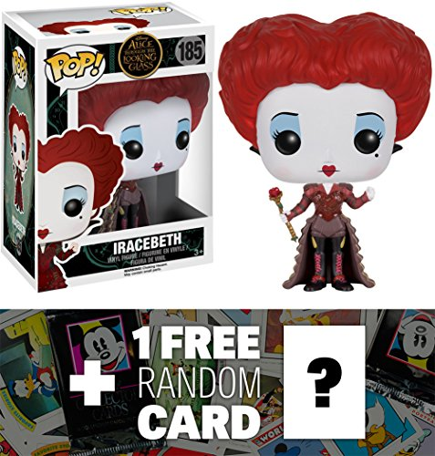 Iracebeth: Funko POP! x Disney Alice Through The Looking Glass Vinyl Figure + 1 FREE Classic Disney Trading Card Bundle [73886] for $<!--$24.99-->