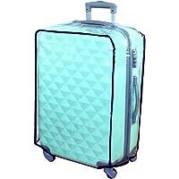 Funda de plástico Hibate, transparente, para maleta