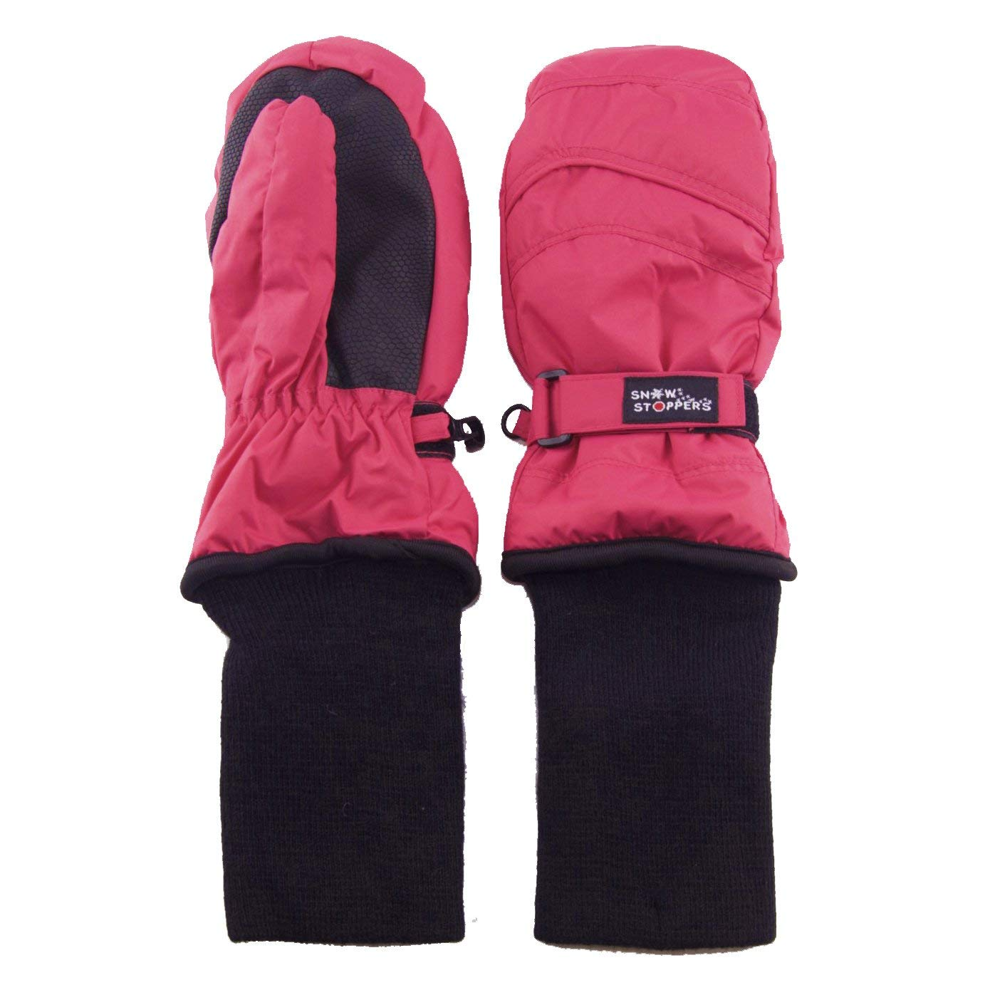 SnowStoppers Kids Nylon Waterproof Snow Colorful Mittens