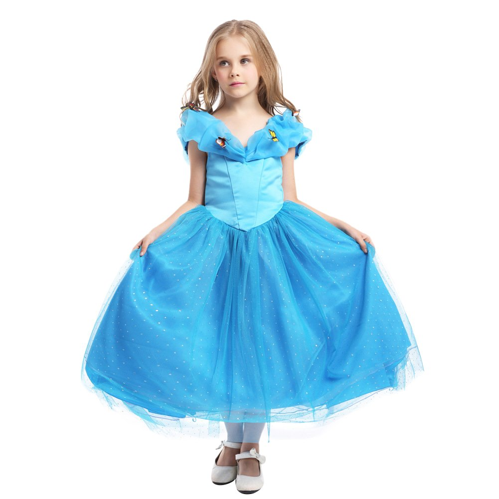 dc7e0681183c Le SSara Girls Halloween Cosplay Costume Fancy Party Fairy Princess ...