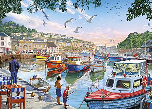 Gibsons First Catch Jigsaw Puzzle, 1000 Piece ()