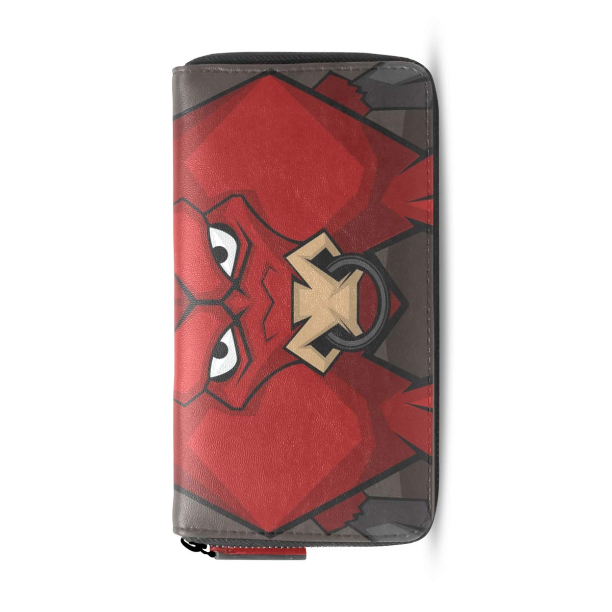 Amazon.com: Clutch Cartera Bolso Devil Red Bull Largo ...