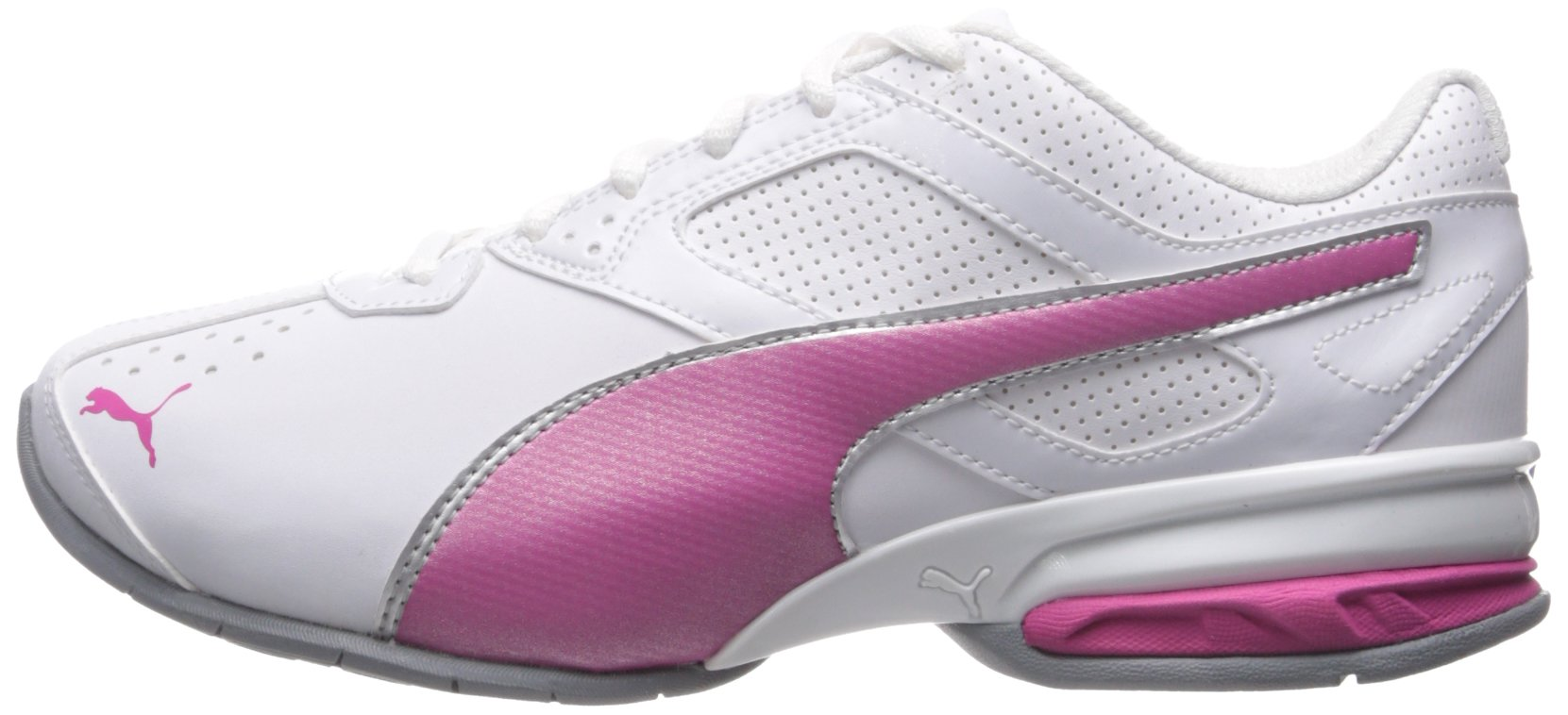 PUMA Women's Tazon 6 WN's fm Cross-Trainer Shoe, White/Fuchsia Purple Silver, 6.5 M US by PUMA (Image #5)