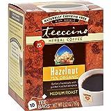 Teeccino Herbal Coffee Hazelnut – 10 Tea Bags – Case of 6 Review