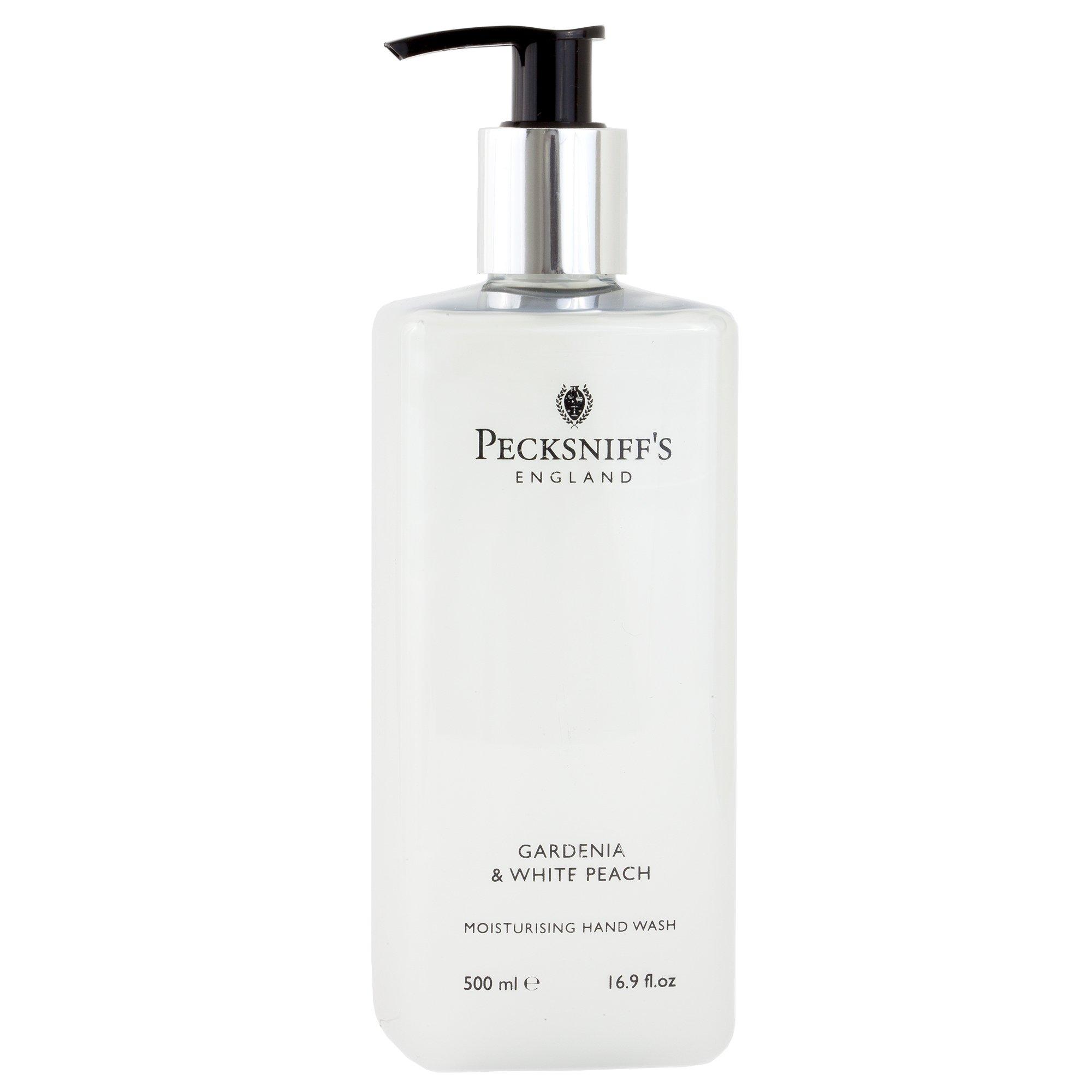 Pecksniff's Gardenia and White Peach Hand Wash 16.9 oz