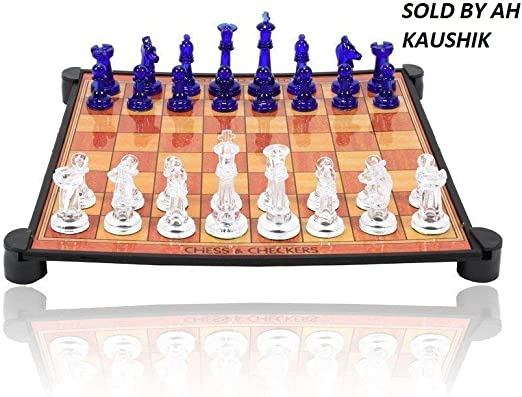 Chess Board Game,13 in 1 Magnetic Ludo, Chess ,Snacks and Ladders Set Board Gameby AH Kaushik