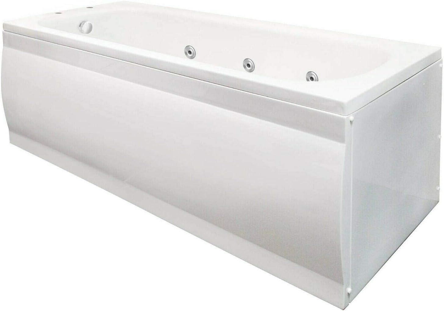 Standard 1700 x 700mm Whirlpool Bath with 11 Jet Jacuzzi Spa System Bathtub
