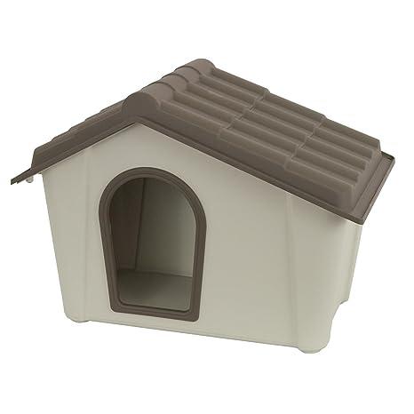 Caseta para perros gatos cucce de resina 79 x 59 x 60h para talla media