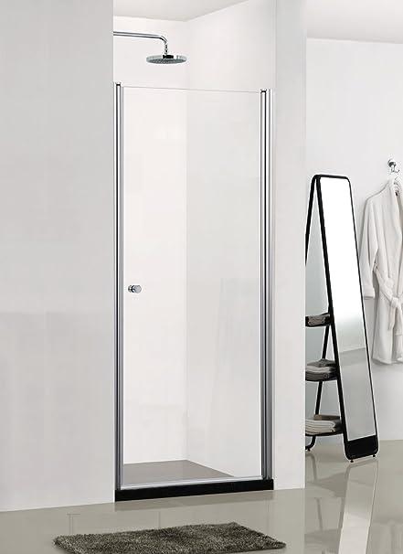 Sano técnica – Mampara de ducha, 1 puerta – Dimensiones: 89 – 91 x ...
