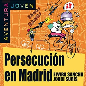 Persecución en Madrid [Persecution in Madrid] Audiobook