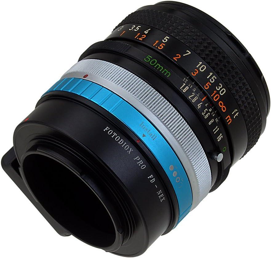 Fotodiox PRO Lens Mount Adapter FX-NEX Pro 35mm Fuji Fujica X-Mount Lenses to Sony E-Mount NEX Camera