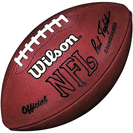 43250880 Wilson Official NFL Game Football (1993-2005)- Paul Tagliabue Signature
