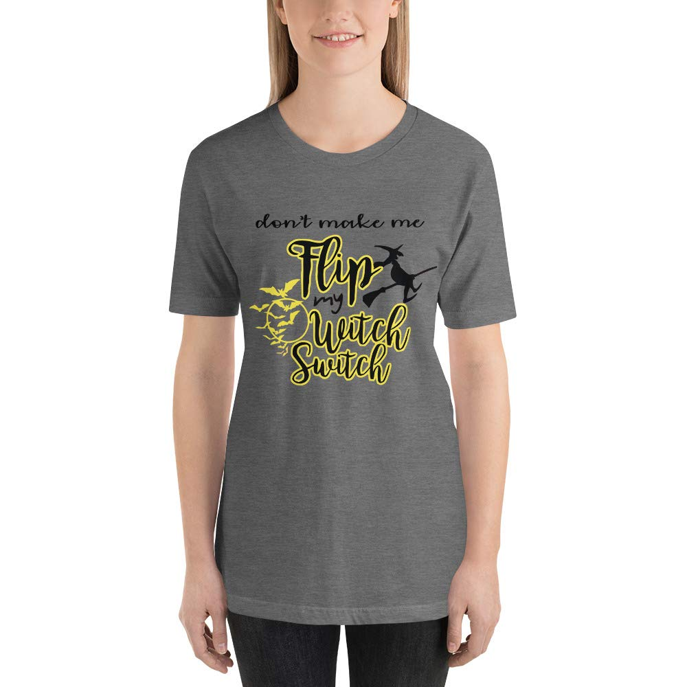 Halloween T-Shirt Dont Make Me Flip My Witch Switch Tshirt