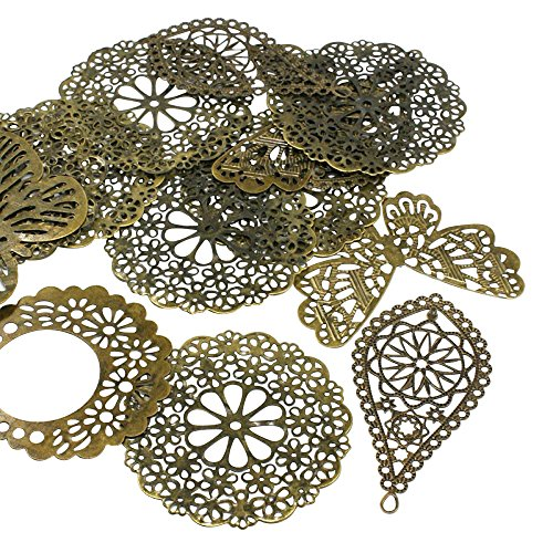 Pandahall Antique Filligree Findings Jewelry