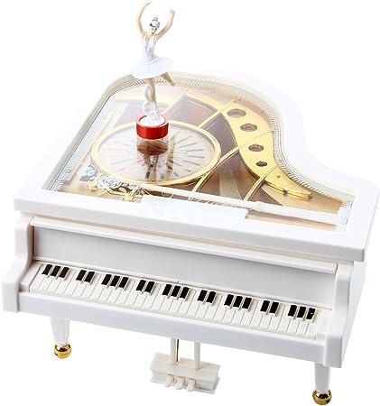 TOOGOO(R) Caja de musica caja de musica caja de musica de piano de ...