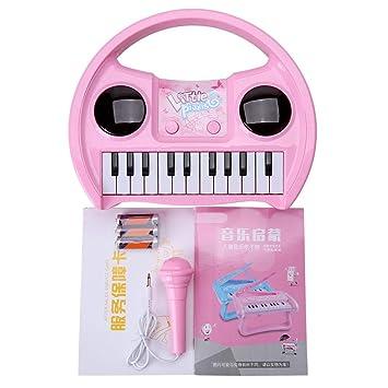 Zerodis Mini Teclado Electrónico Piano Piano Musical con ...