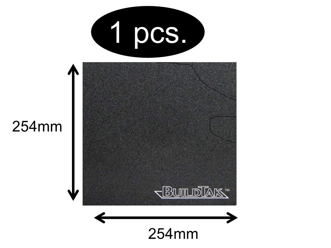 BuildTak - Placa de impresión 3D, tamaño a elegir, 254x254mm ...