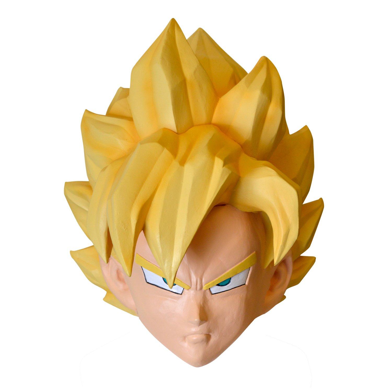 Dragon Ball Z Goku traje de maescara de alta calidad para los accesorios 95737: Amazon.es: Juguetes y juegos