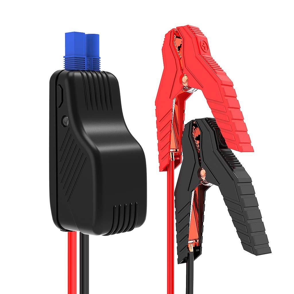 BEATIT Batteria Cavi di Avviamento Cavi per Accensione d'Emergenza - ED5 Porta on Boost Pulsante