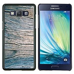 Stuss Case / Funda Carcasa protectora - Grano Verano Azul Pier Textura - Samsung Galaxy A5 ( A5000 ) 2014 Version