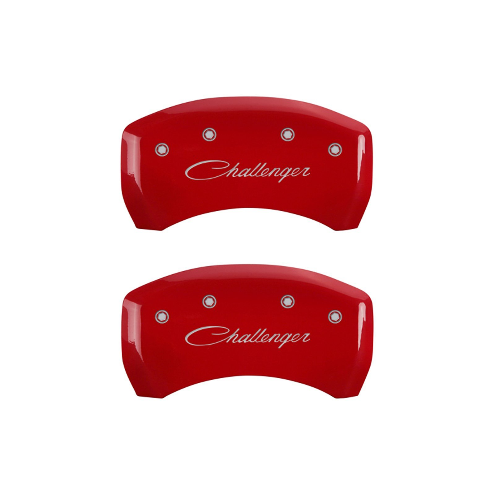 MGP Caliper Covers 12162SCLSRD Caliper Cover with Red Powder Coat Finish, (Set of 4) by MGP Caliper Covers (Image #1)