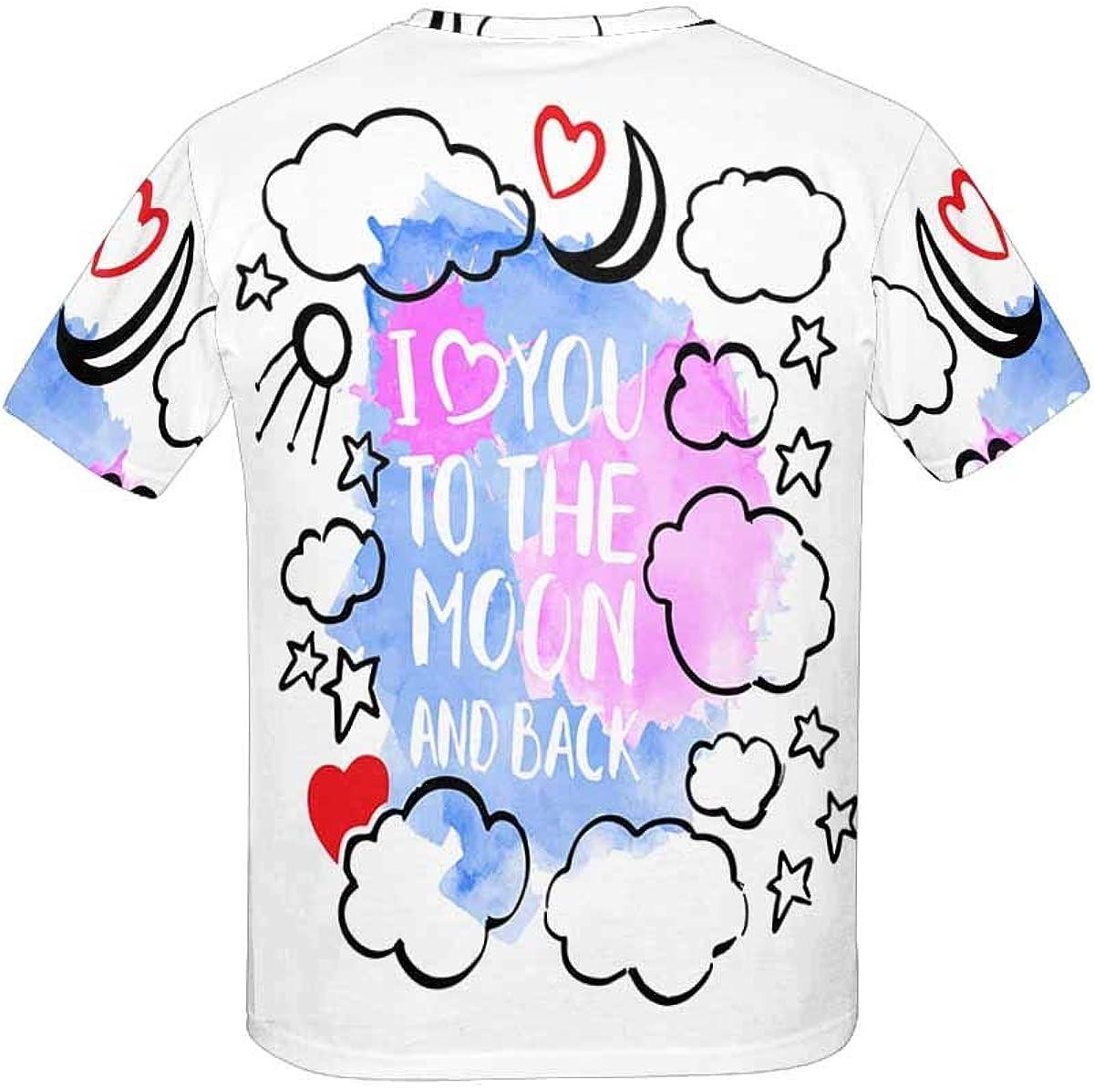 INTERESTPRINT T-Shirt in Youth XS-XL
