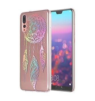 E-Flamingo Funda Huawei P20 Pro Láser Colorido Atrapasueños ...