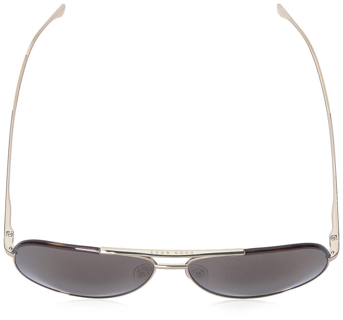 Hugo Boss Boss 0782/S HJ 0I5, Gafas de Sol Unisex-Adulto, Negro (Lt Gold Black/Gun Metal Fl), 60: Amazon.es: Ropa y accesorios