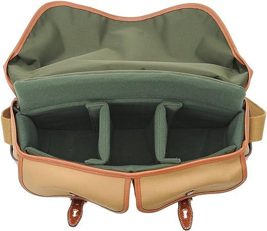Billingham Hadley Pro Canvas Camera Bag With Tan Camera Photo
