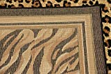 Unique Loom Wildlife Collection Cheetah Border