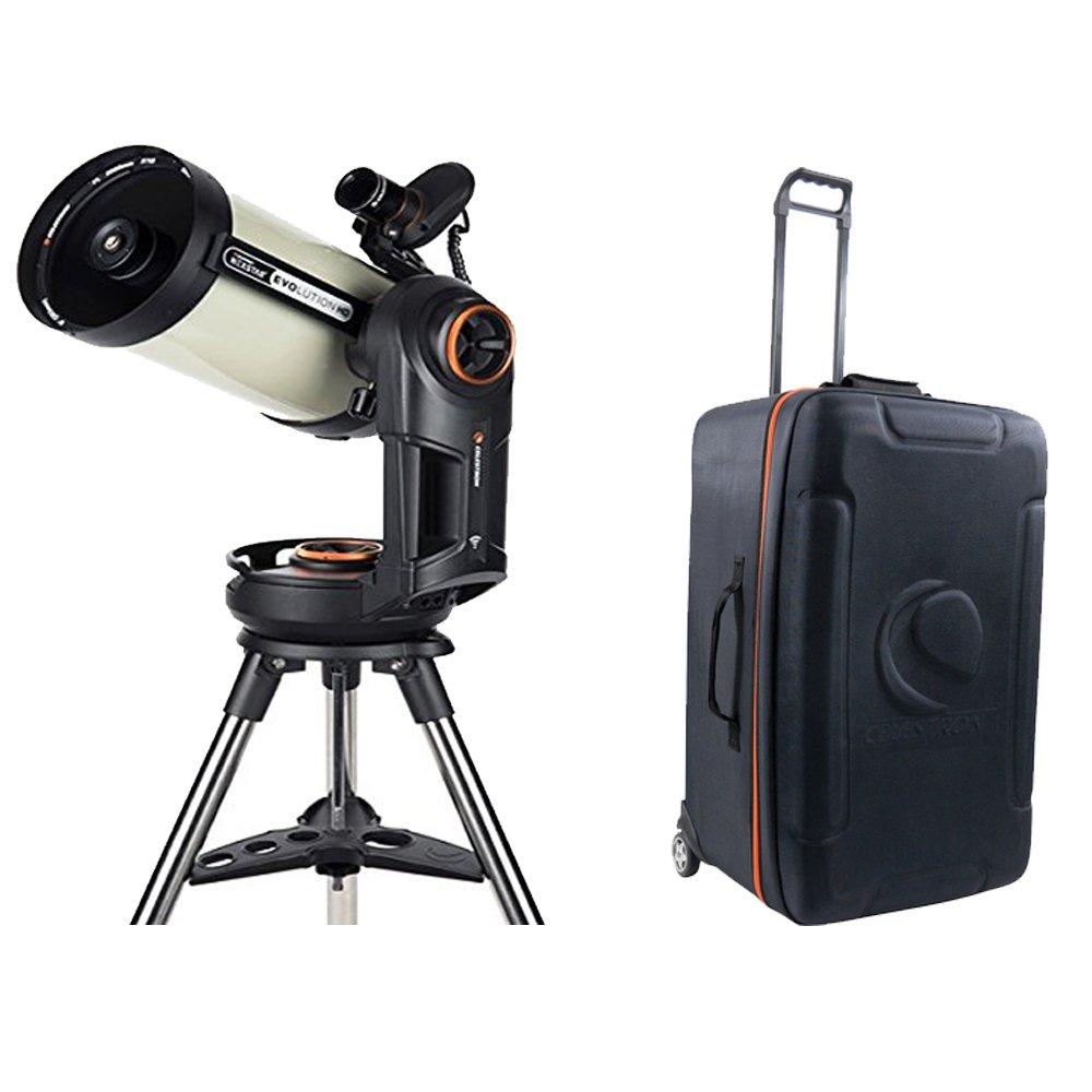Celestron NexStar Evolution 8 EdgeHD,Schmidt-Cassegrain Telescope + Nexstar Case