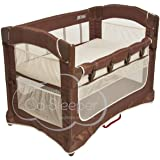 Arm's Reach Concepts Ideal Ezee 3-in-1 Bedside Bassinet - Cocoa Natural/Brown