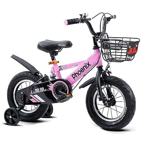 LPYMX Bicicleta para niños Bicicletas para niños Jardín de ...