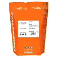 Bodybuilding Warehouse Pure L-Glutamine Powder Unflavoured 500 g