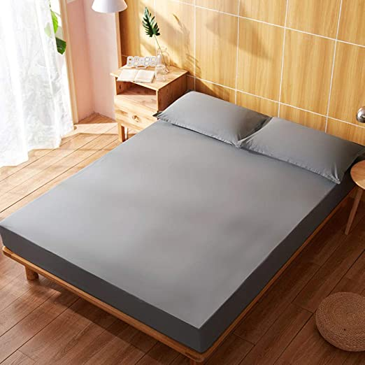 BEDZHAON Funda de colchón Doble Impermeable y Transpirable algodón ...