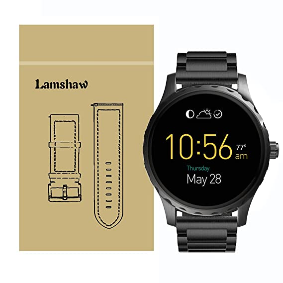 be50379edba Image Unavailable. Image not available for. Color  Smartwatch Band for Fossil  Q Marshal Gen 2