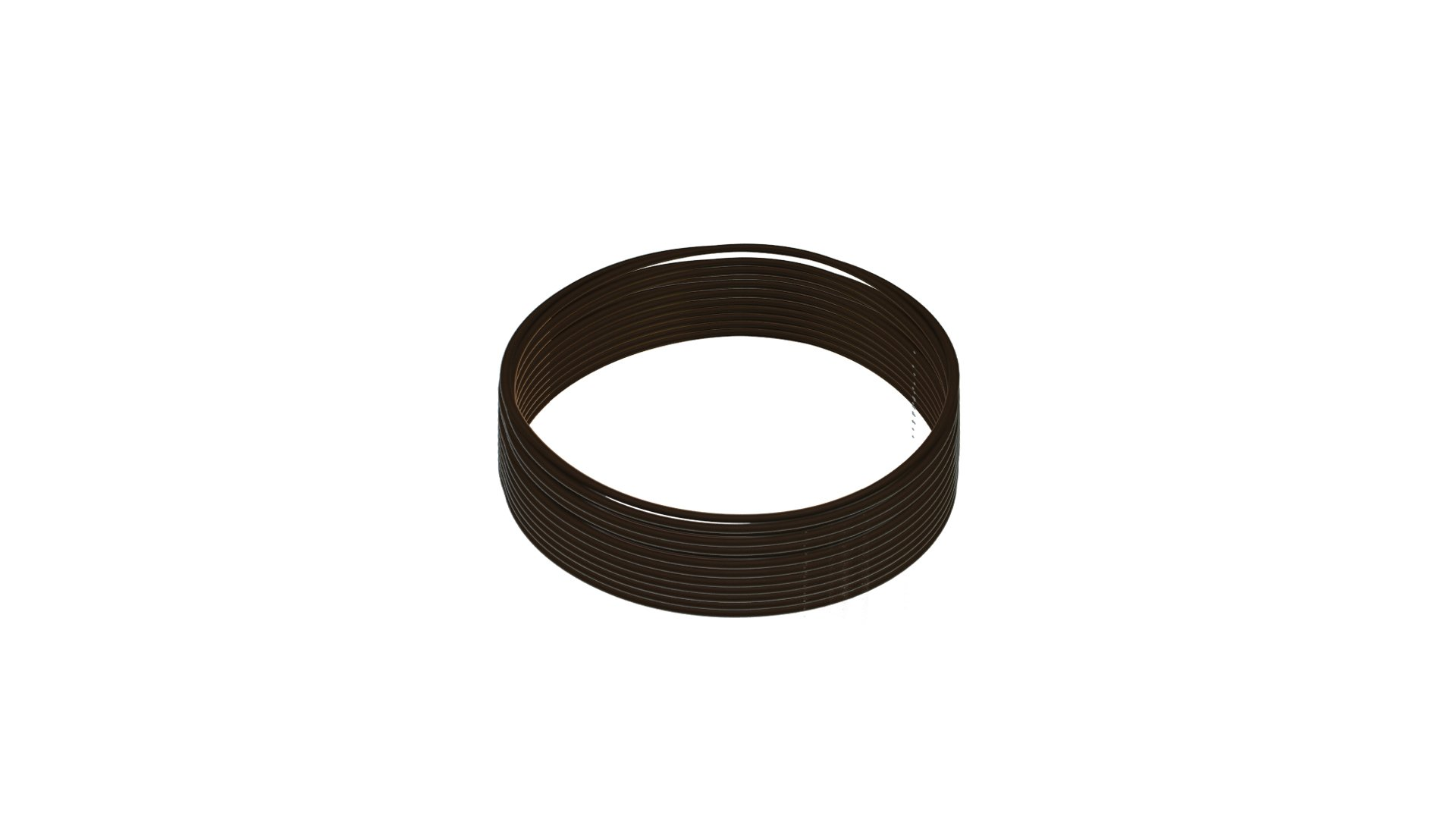 Sterling Seal OR75BRNVI454X10 454 75D O-Ring, FKM/Viton, Brown (Pack of 10)