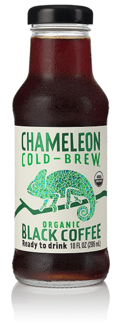 Chameleon Cold Brew Black Coffee, 10 Ounce (Pack of 12)