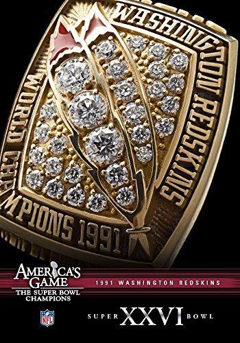 Washington Redskins Super Bowl Xxvi: NFL America's [DVD] [Region 1] [US Import] [NTSC] (Redskins Washington Dvd)