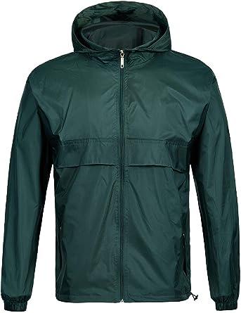 SWISSWELL Waterproof Windbreaker Rain Jacket