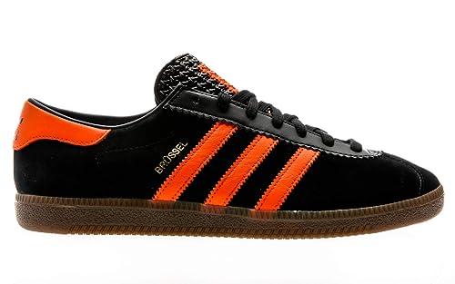 adidas black oranhe