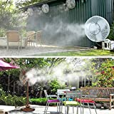 HOMENOTE Fan Misting Kit for a Cool Patio Breeze